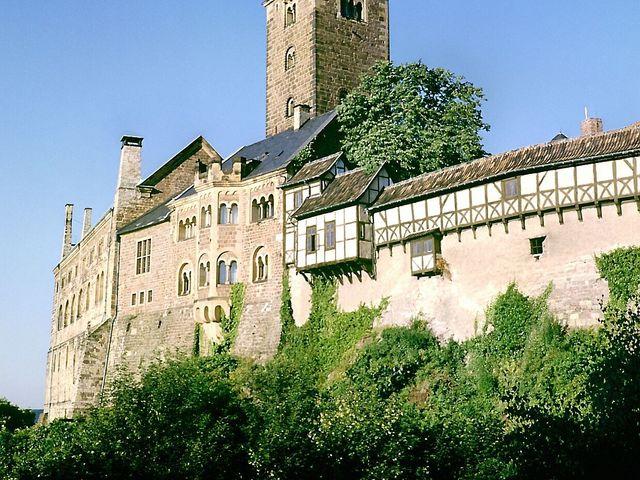 Romantik Hotel auf der Wartburg