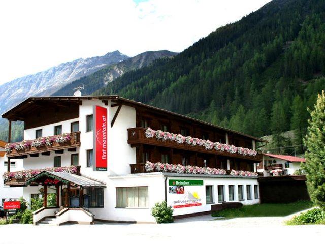 first mountain Ötztal