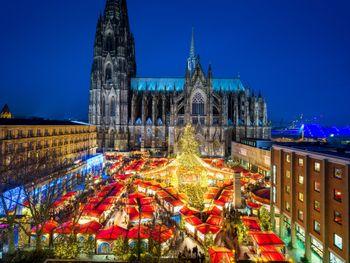 2 Nächte Kölner Weihnachtsmärkte inkl. 1 x Dinner