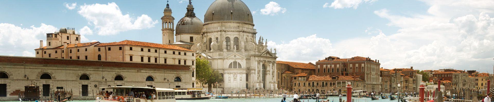Gondelfahren in Venedig