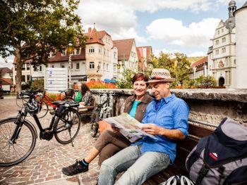 """Radfahren auf dem 5-Sterne-Radweg """"Der Klassiker"""""""
