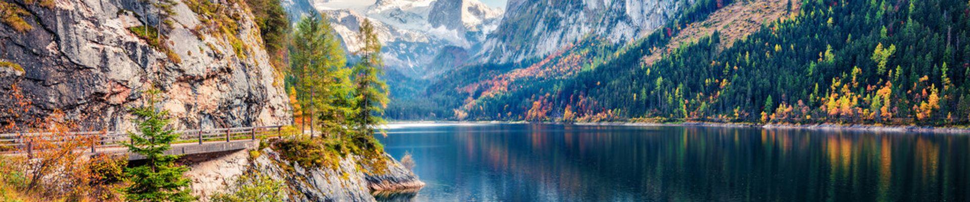 Berge Österreich und Schweiz