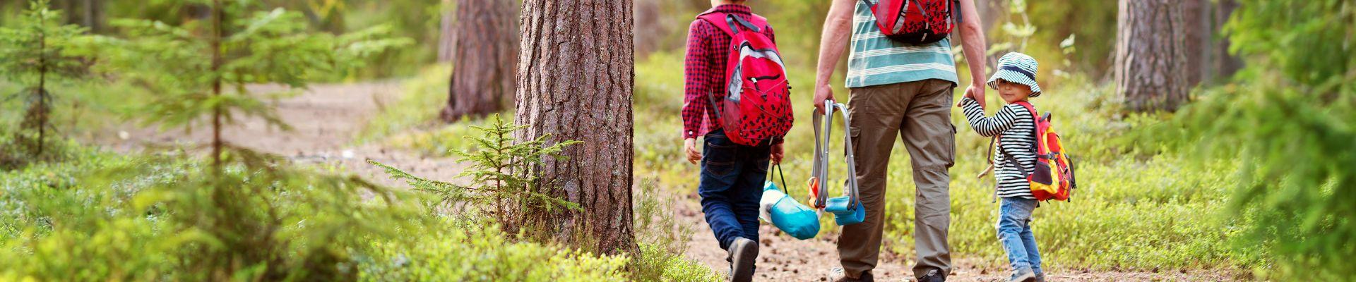 Wanderwege mit Kindern